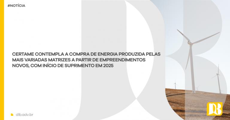 Leilão A-6 da ANEEL de compra de energia elétrica avança e terá sessão aberta no dia 18 de outubro